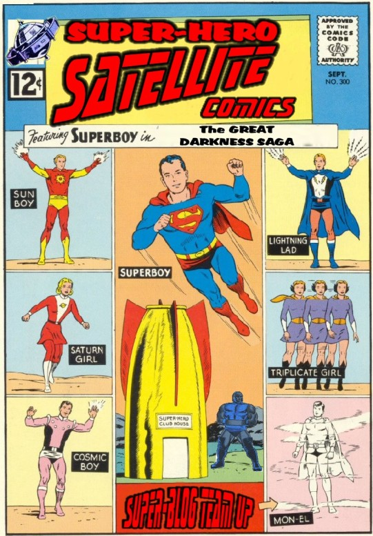 SuperHero Satellite comic