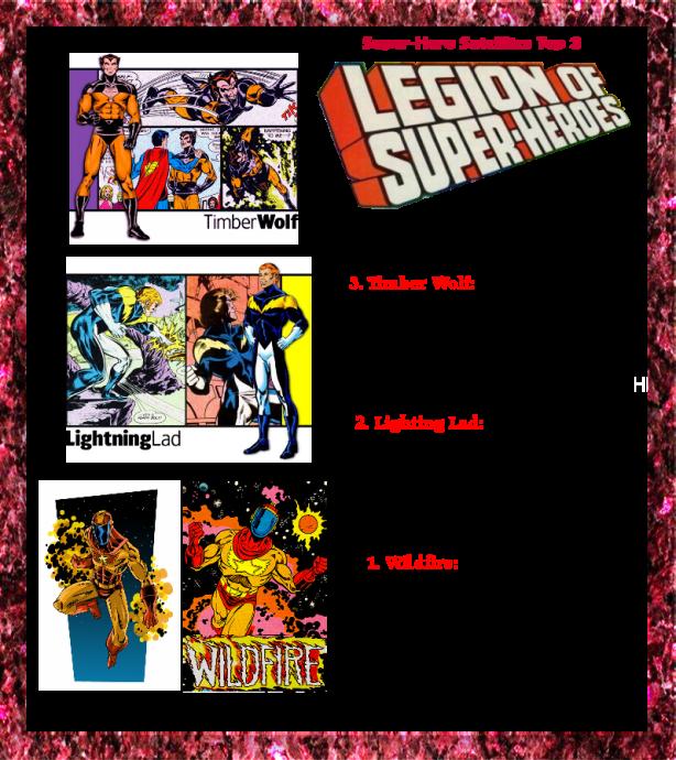 top 3 legionnaires