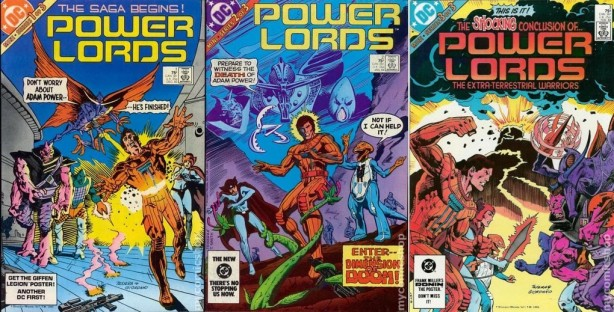DC Powerlords comic collection