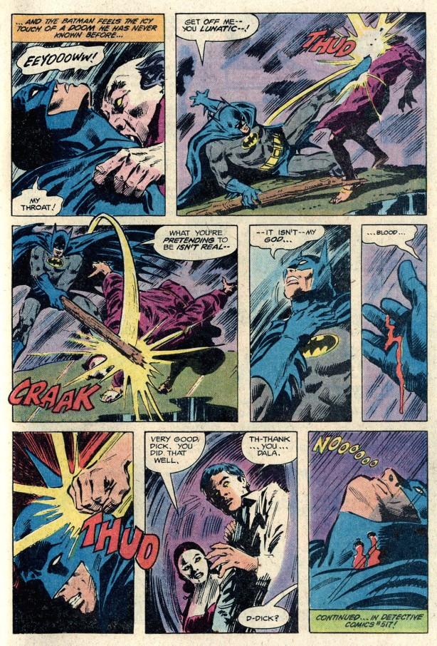 batman 350Batman bitten