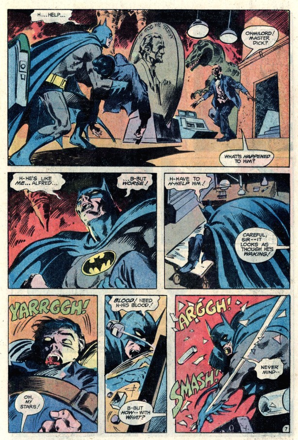 batman 351 Batman brings robin to batcave