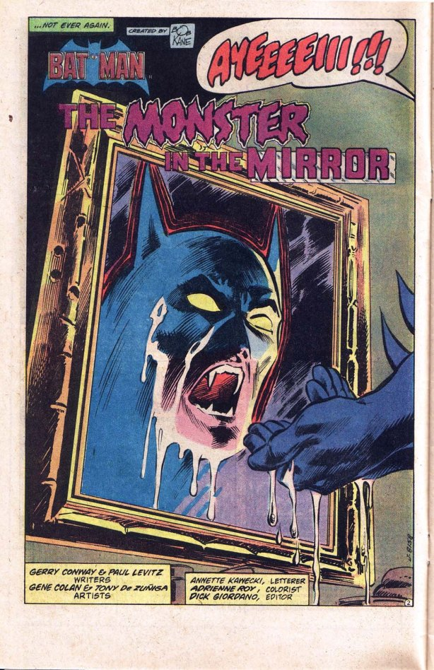 detective 517-Batman Vamp mirror