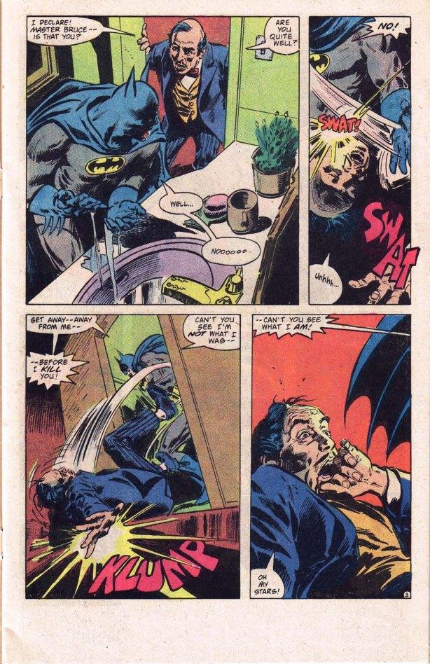 detective 517Affred discovers Vamp Batman