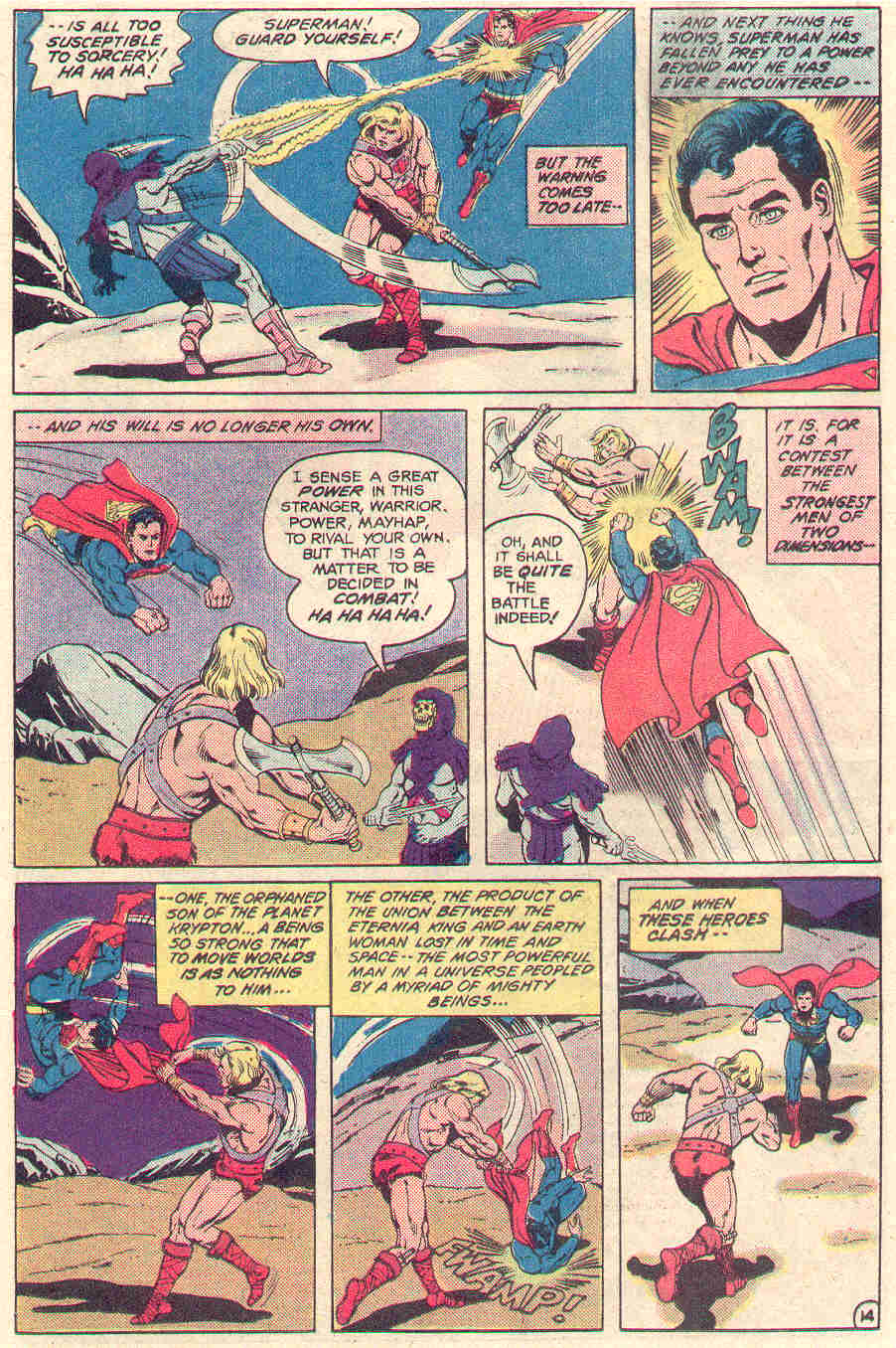 SUPER-BLOG TEAM Up 4 : Masters Of The DC Universe? | The ...