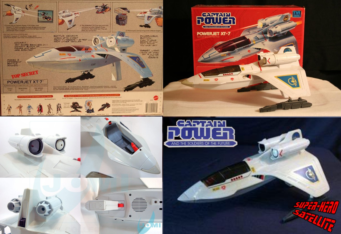 PowerJet XT-7 collage