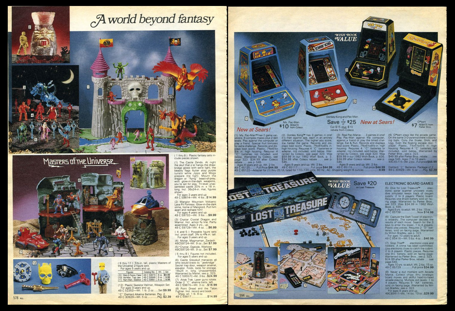 Sears Toys For Boys : The super hero satellite nd annual holiday special