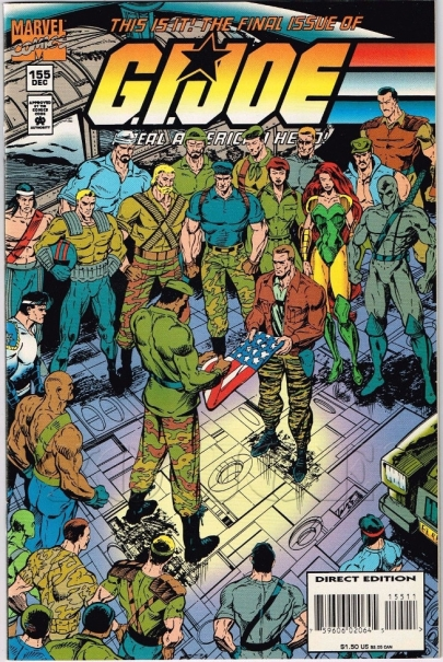 GI Joe Last issue