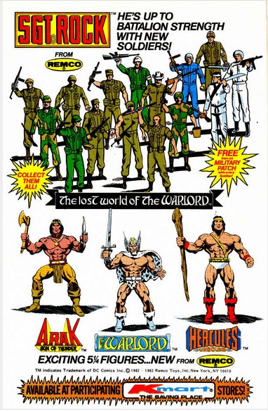 REMCO Warlord Toy ad 3