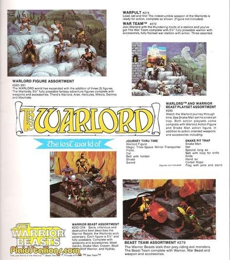 warlord cataloge
