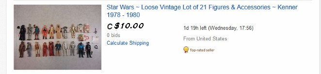 Impossible eBay Auction