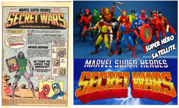 Secret Wars Collage