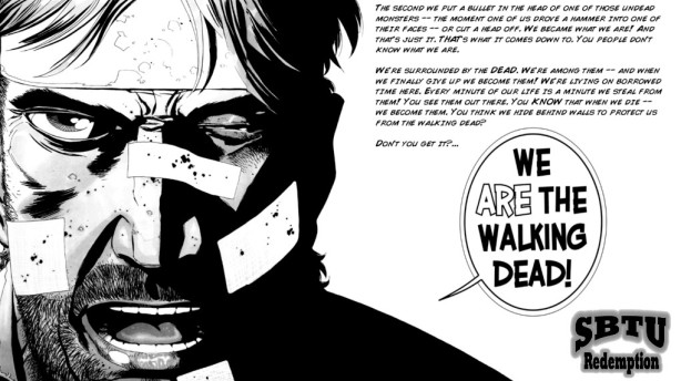 we are the walking dead