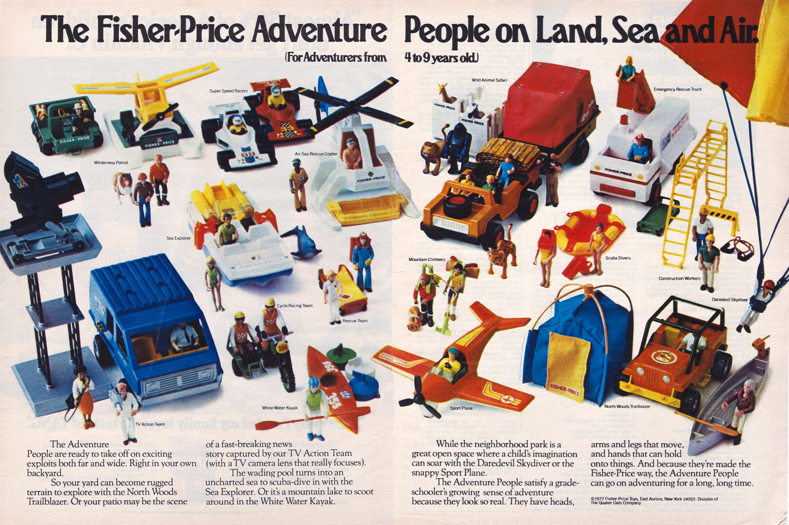 Adventure People Promotional Ad