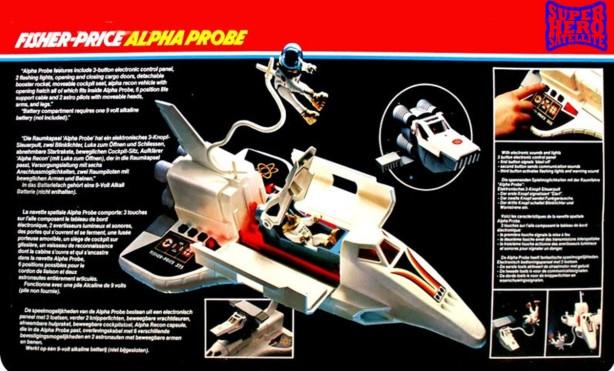 Alpha probe