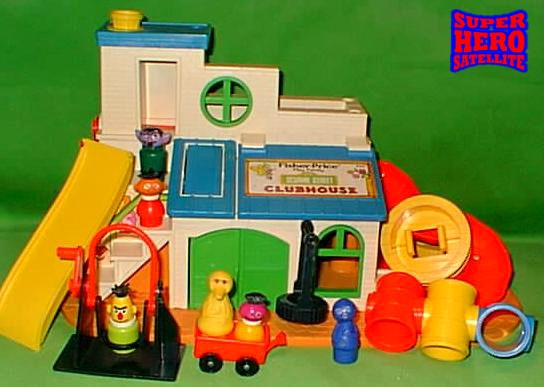 Fisher Price Sesame Street Club House