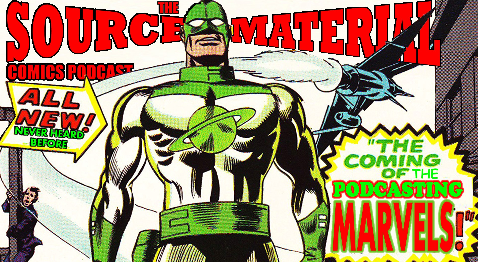 Source Material Podcast banner