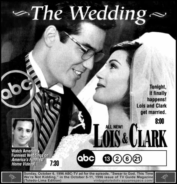 LOis and Clark wedding